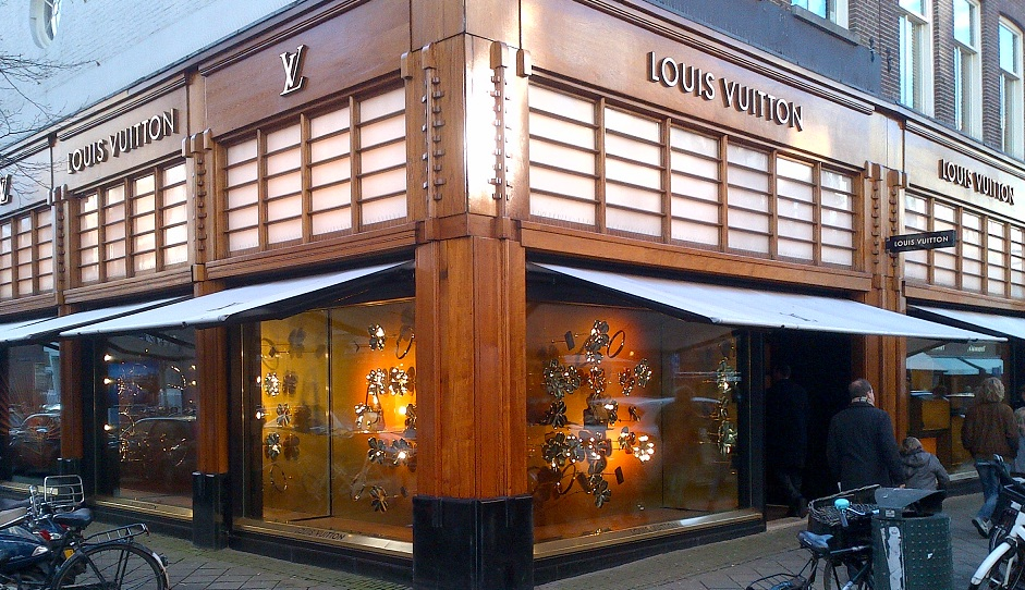 Louis Vuitton store Amsterdam