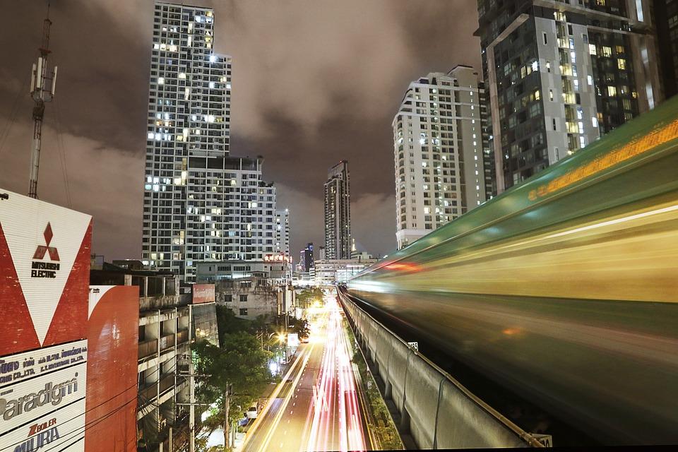 Skytrain, Bangkok Thailand